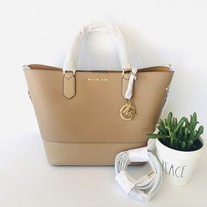 Michael Kors Trista Large Leather Grab Bag